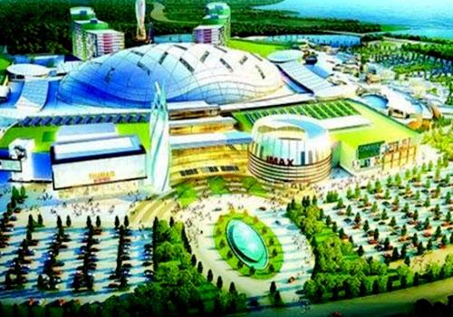 アジア最大室内テーマ楽園
