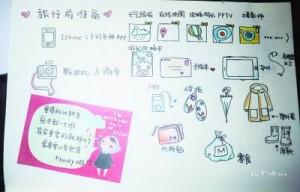 武漢の旅行記手描き達人